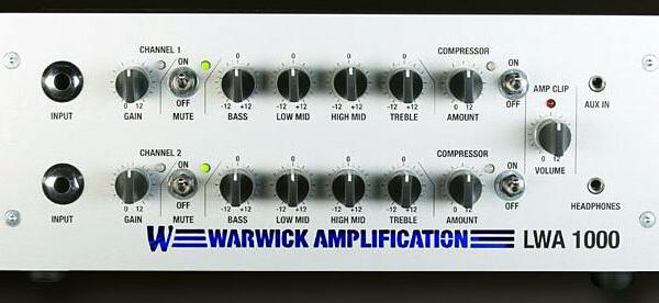 Warwick Introduces LWA 1000 Lightweight Bass Amplifier