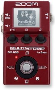 Zoom MultiStomp MS-60B Bass Pedal