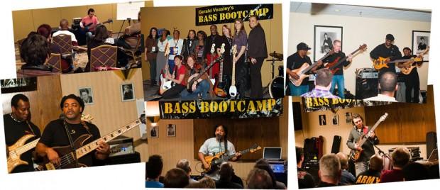 Gerald Veasley's Bass BootCamp Photo Collage
