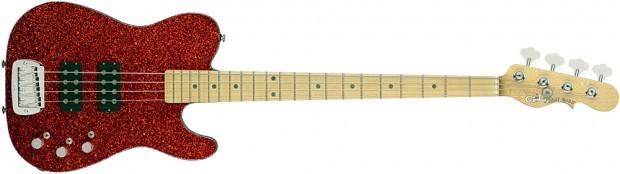 G&L ASAT Tom Hamilton Signature Bass - Red Flake
