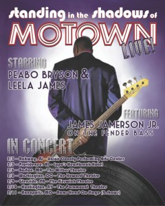 Standing in the Shadows of Motown LIVE!