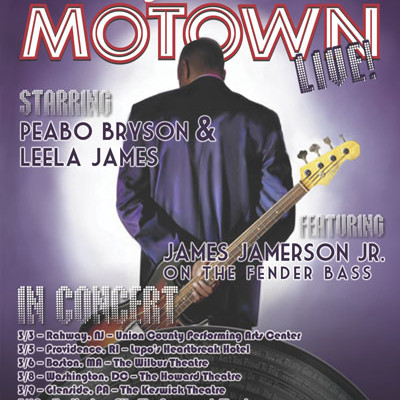 Standing in the Shadows of Motown LIVE! to Feature James Jamerson, Jr.
