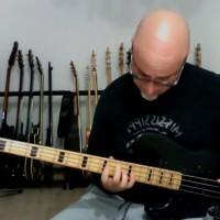 "Pino Saracini: ""Bridge Over Troubled Water"" Solo Bass Arrangement (Featured Reader Video Week)"