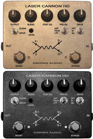 Daring Audio Laser Cannon HD Bass Distortion Pedal