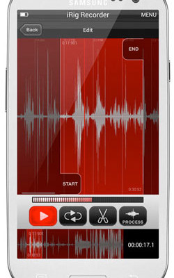 IK Multimedia Introduces iRig Recorder App for Android