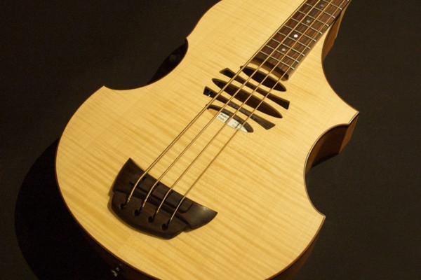 Bass of the Week: Overwater Basses Expression Semi-Acoustic Bass