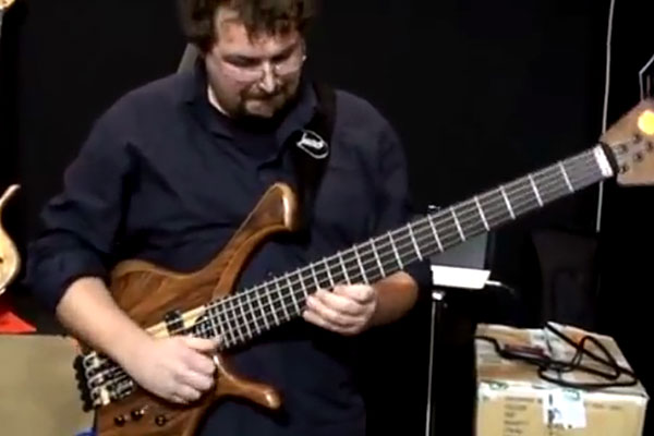 "Federico Malaman: ""Smells Like Teen Spirit"" Solo Bass Performance"