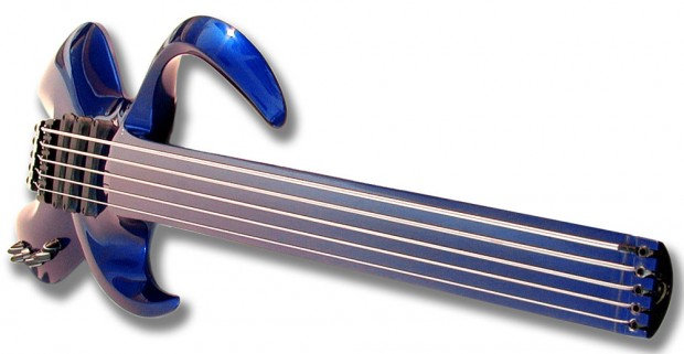 BassLab STD Blue Fretless Bass