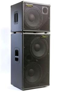 Bergantino Audio Systems CN Bass Cabinet stack