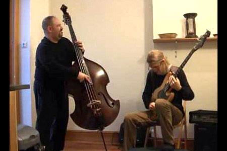 "Marco Panascia and Johan Hansén-Larson: ""Lady Bird"" Bass Duet"