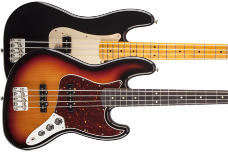 Fender Introduces Classic Series Precision and Jazz Basses with Lacquer Finishes