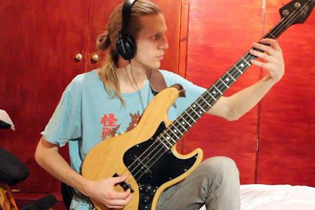 "Johan Hansén-Larson: KNOWER's ""Gotta Be Another Way"" Bass Playalong"