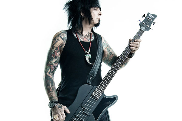 Nikki Sixx Selling Stage-Played Basses from Motley Crue Concerts