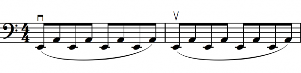 Open Strings Warmup Exercise
