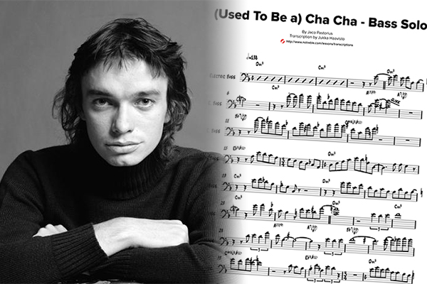"""Transcription: Jaco Pastorius' Solo on """"(Used To Be a) Cha Cha"""""""