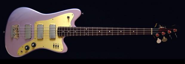Deimel Guitarworks Firestar Bass Front