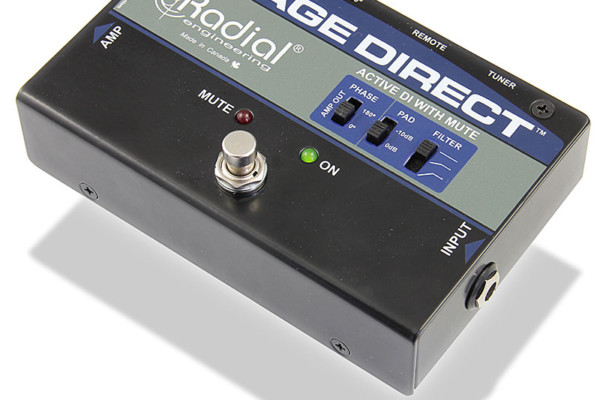 Radial Engineering Introduces StageDirect Muting Direct Box