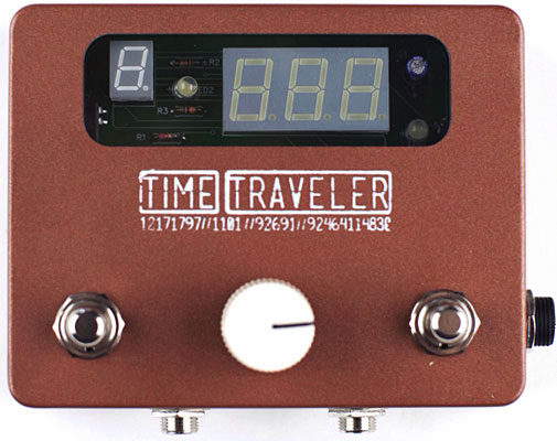 Tapestry Audio Introduces Time Traveler Pedal