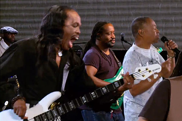 """Earth, Wind, and Fire: """"My Promise"""" Rehearsal Performance"""