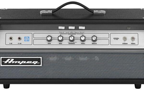 Ampeg Reintroduces V-4B All-Tube Bass Amplifier
