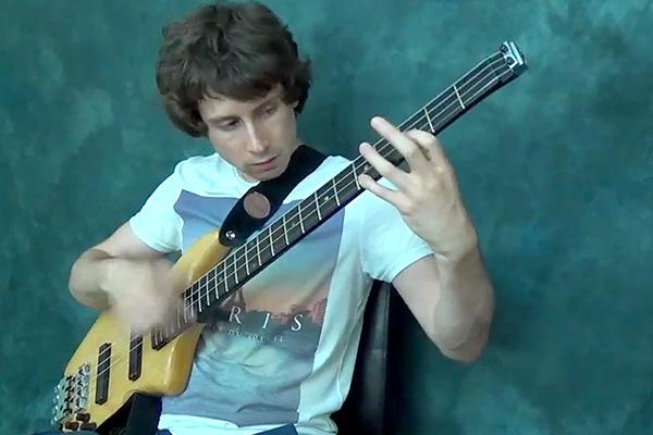 "Zander Zon: Imagine Dragons ""Radioactive"" Solo Bass Arrangement"