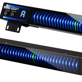 Korg Introduces Pitchblack Pro Rackmount Tuner