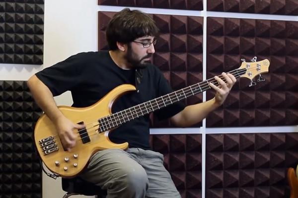 Alejandro Masafret: Bass Improv #2