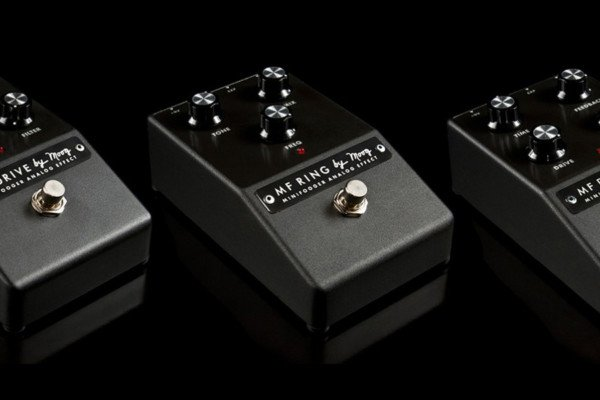 Moog Introduces Five New Minifooger Effects Pedals