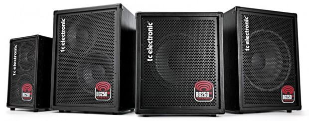 TC Electronic BG250 Series Combo Bass Amps