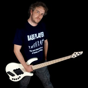 Alberto Rigoni with Dingwall Guitars AR5 Bass