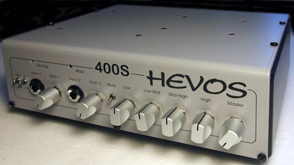 Hevos 400S Compact Bass Amplifier
