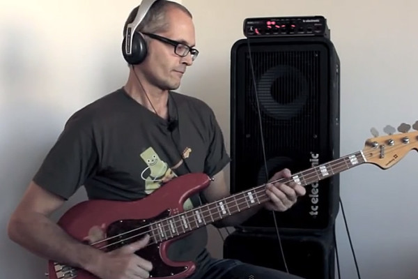 Lesson: Funky Slap Bass with Open Strings