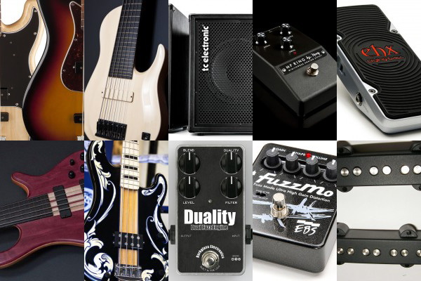 Bass Gear Roundup: The Top Gear Stories in October