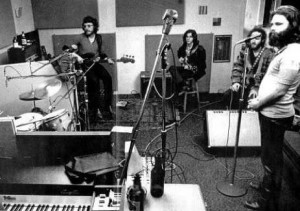 Jerry Scheff in studio