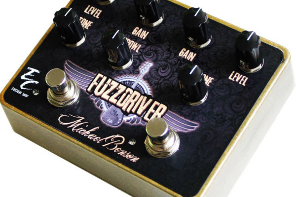 EC Pedals Releases Michael Benson FuzzDriver Pedal