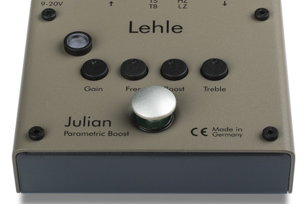 Lehle Now Shipping Julian Parametric Booster Pedal