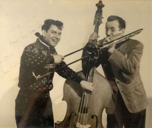 """Herman """"Trigger"""" Alpert with Glenn Miller"""