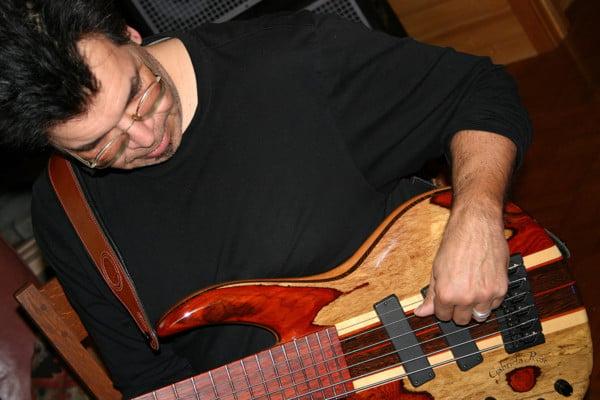 "Bass of the Week: Jimmy Haslip's ""Gabriella Rose"" Bass by Wyn Guitars"
