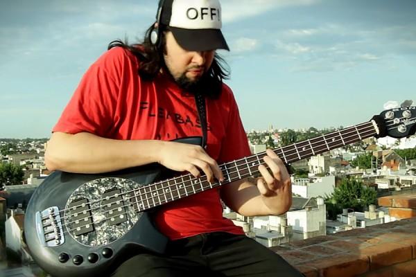 """Nico Aranda: """"Get Lucky"""" Solo Bass Cover"""