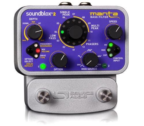 Source Audio Introduces Manta Bass Filter