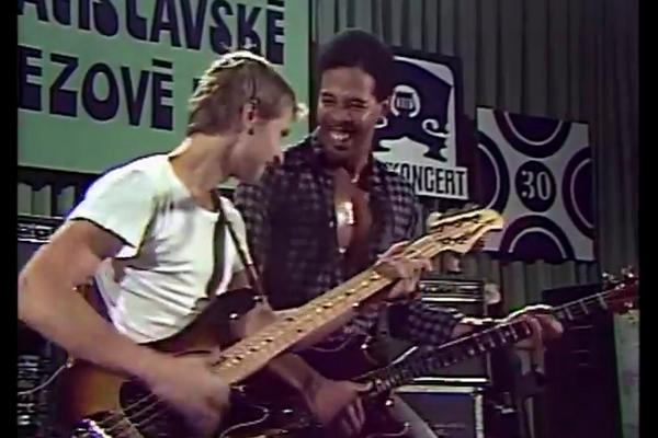 Juraj Griglak and Stanley Clarke Jam (1985)