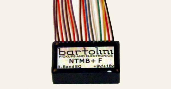 Bartolini Announces NTMB+ Preamp Module