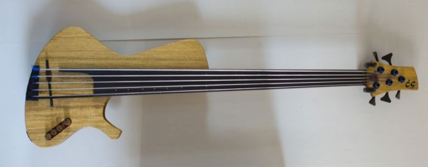 CG Lutherie Sequel 5-String Hollow Body Fretless Bass