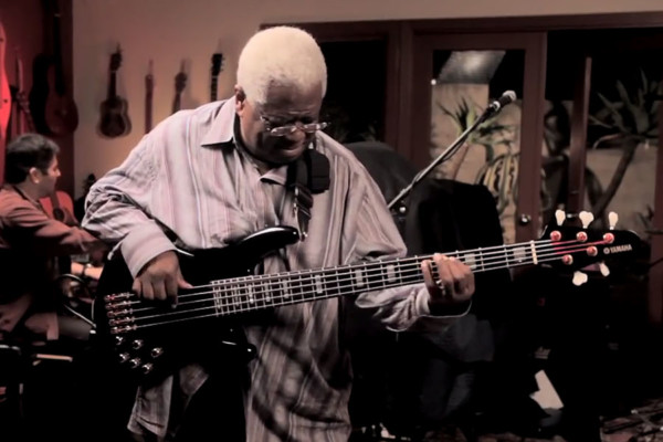 Abraham Laboriel with the CSCM Professors: The Chicken