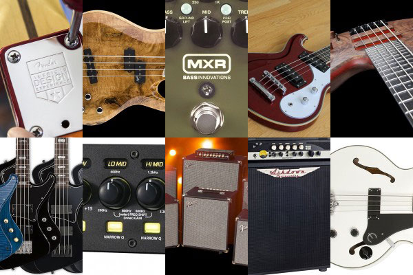 Bass Gear Roundup: The Top Gear Stories in March