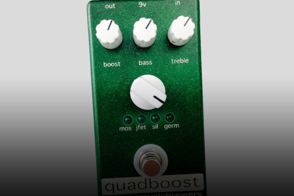 Big Tone Music Brewery Releases Quadboost Pedal