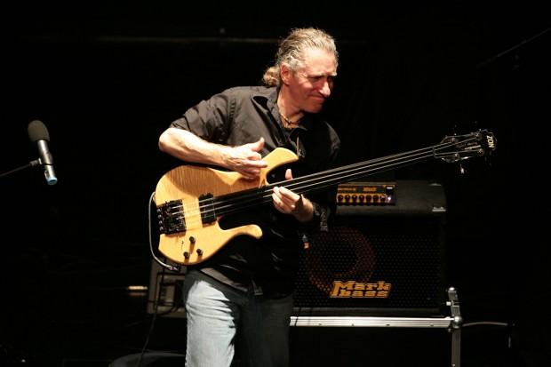 Michael Manring performing