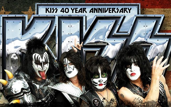 KISS Celebrates 40 Years with Vinyl Reissues