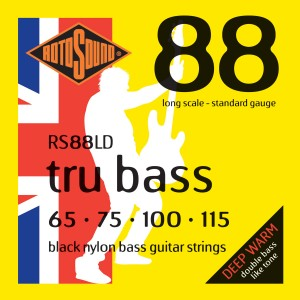 Rotosound Tru Bass RS88LD Black Nylon Strings