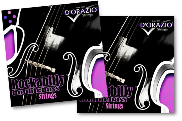 D'Orazio Strings Introduces Rockabilly Ropecore Chrome-Steel Upright Bass Strings